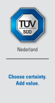 Global Homepage of TÜV SÜD Netherlands