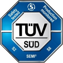 SEMI S2 TUV SUD certification mark