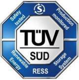 TÜV SÜD battery / RESS test mark